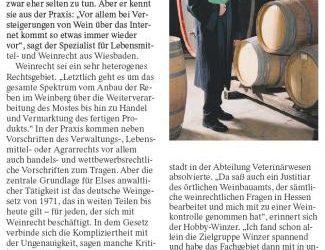 Hobby-Winzer und Weinrechtler